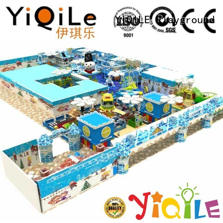 YIQILE adventure amusement playground commercial indoor play structures indoor