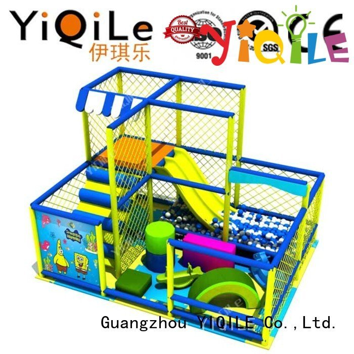 commercial indoor play structures prices YIQILE Brand indoor playground manufacturer