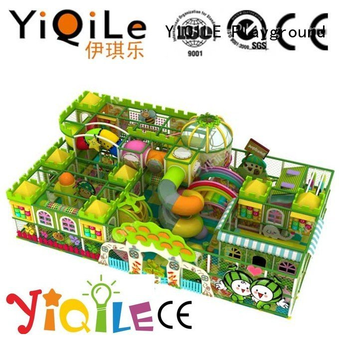 YIQILE Brand adventure amusement animal commercial indoor play structures