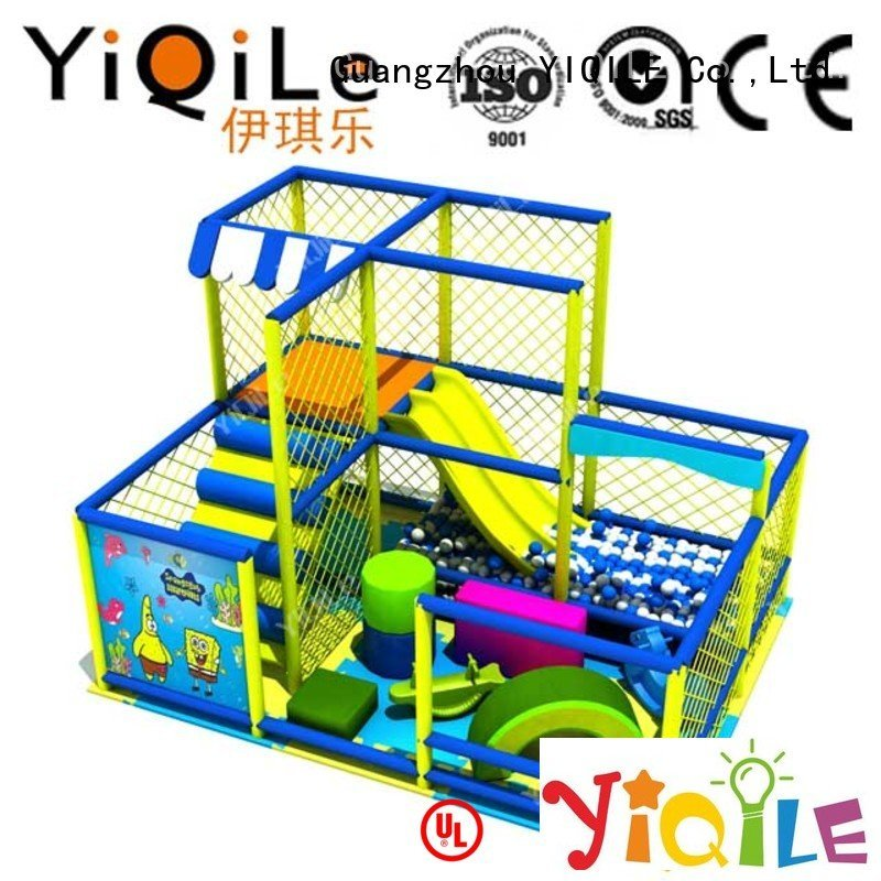 Quality commercial indoor play structures YIQILE Brand kid indoor playground manufacturer