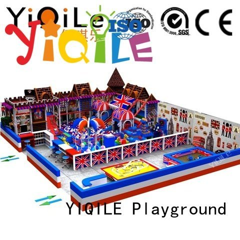 commercial indoor play structures indoor indoor playground manufacturer YIQILE Brand