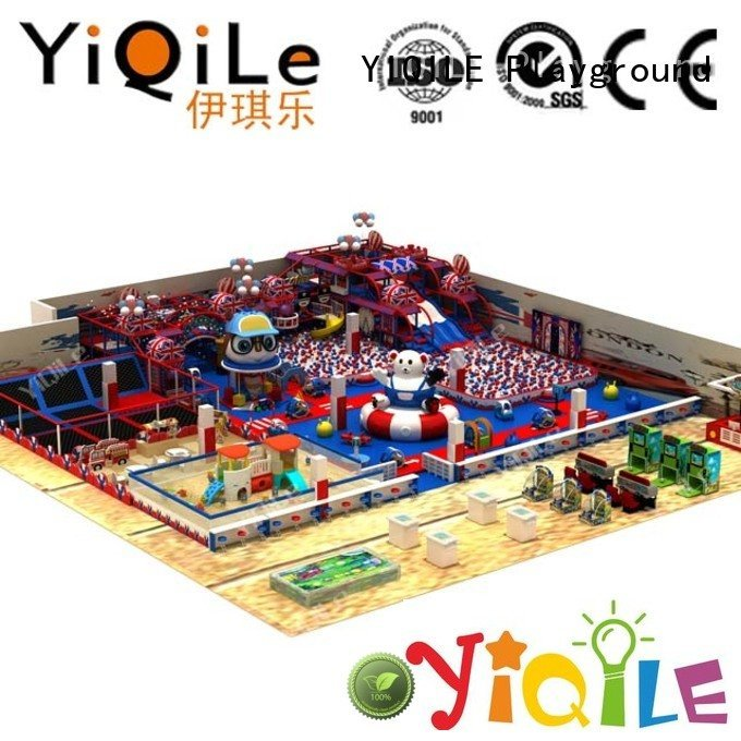 commercial indoor play structures adventure equipment amusement park YIQILE