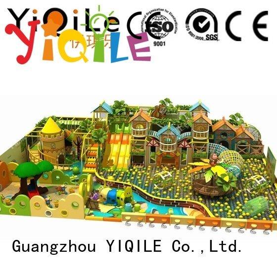 commercial indoor play structures indoor park OEM indoor playground manufacturer YIQILE