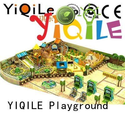 Hot commercial indoor play structures playground animal prices YIQILE Brand