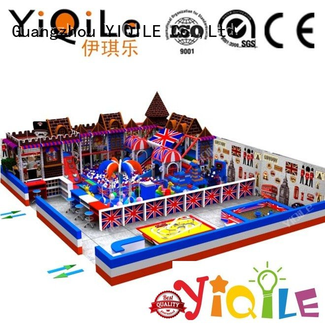 commercial indoor play structures amusement sale YIQILE Brand