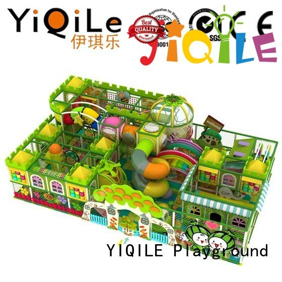 commercial indoor play structures park sale indoor playground manufacturer YIQILE Warranty