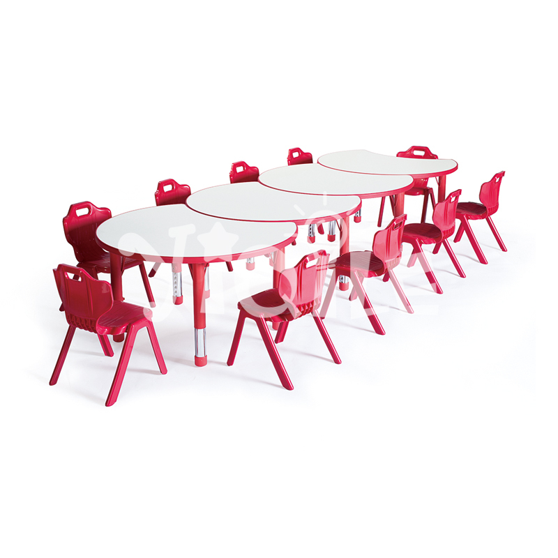 Adjusted environmental LLDPE child furniture for kindergarten