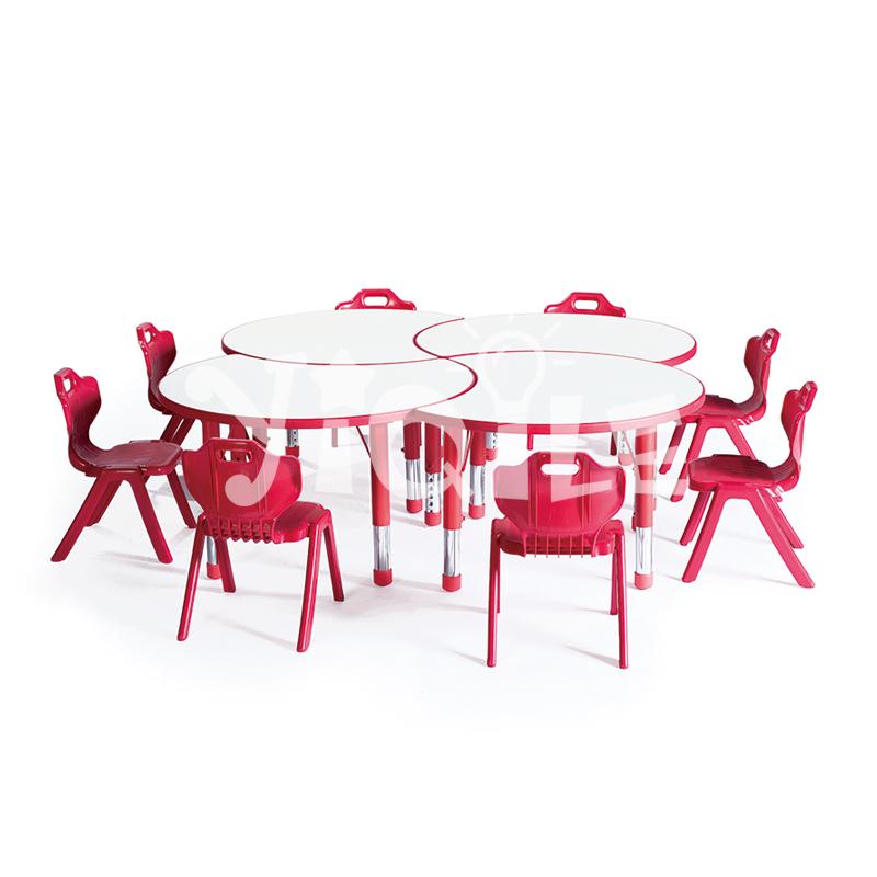 Adjusted environmental LLDPE child furniture for kindergarten