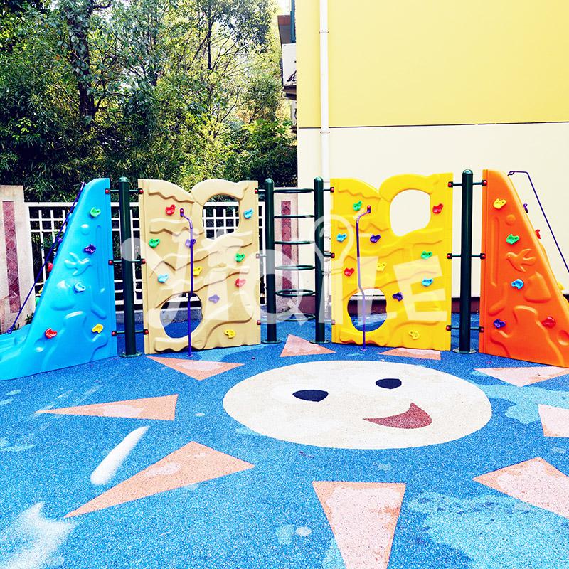 Popular fantastic kids climbing wall in kids climbing equipment