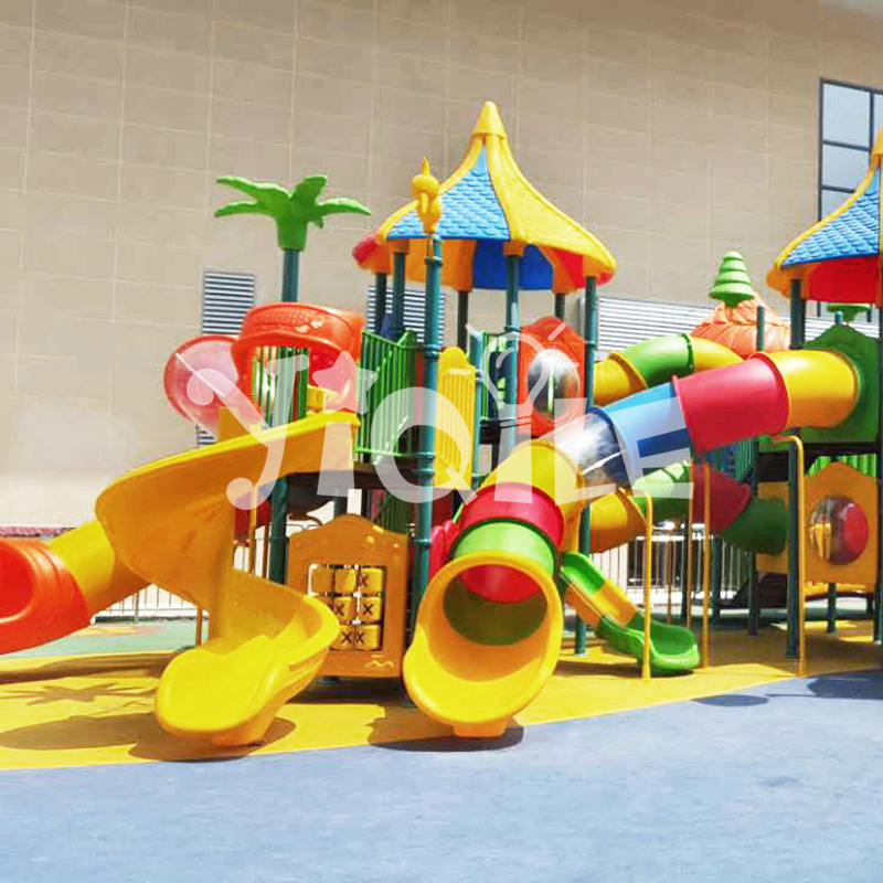 CE certificate brightly colored children playground equipment for sale