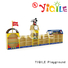 YIQILE Brand soap mdf school kids furniture sale combined