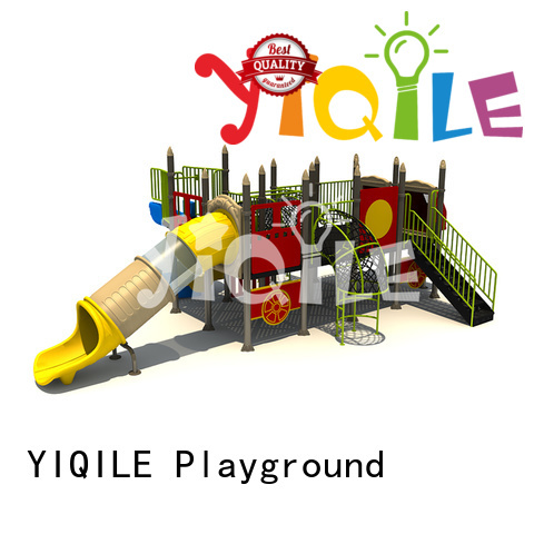 climbing newest design YIQILE plastic outdoor play equipment