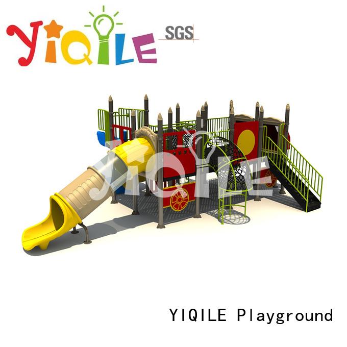 plastic playground equipment design fantastic certificate YIQILE
