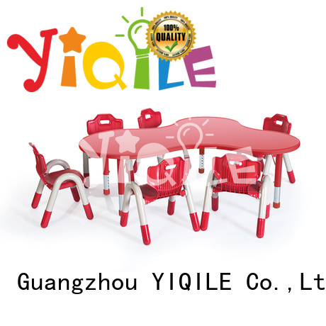 shape table YIQILE Brand kids furniture sale