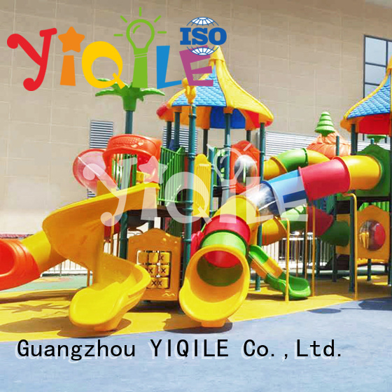 YIQILE plastic playground equipment brightly colored kindergarten equipment