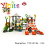 YIQILE Brand brightly games plastic playground equipment ce colored