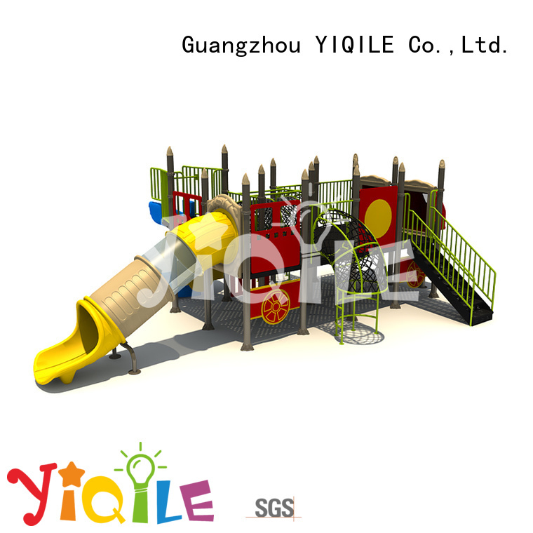plastic playground equipment games wall OEM plastic outdoor play equipment YIQILE