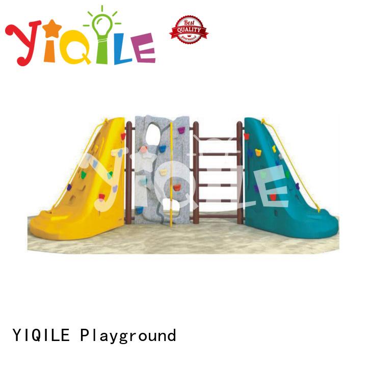 plastic playground equipment climbing YIQILE Brand