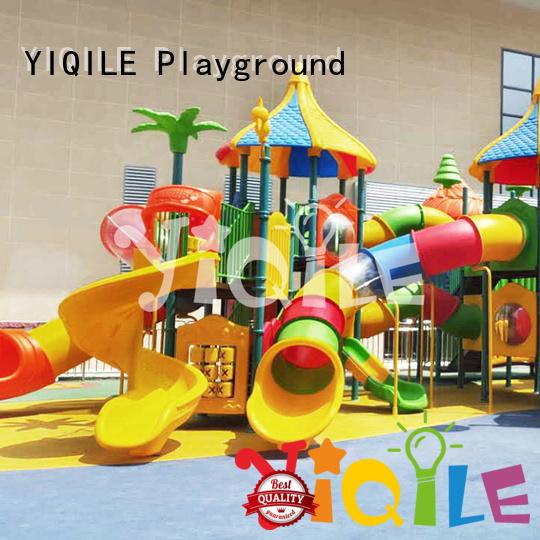 YIQILE Brand climbing newest design plastic playground equipment