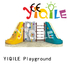 YIQILE Brand kindergarten climbing children plastic outdoor play equipment playground