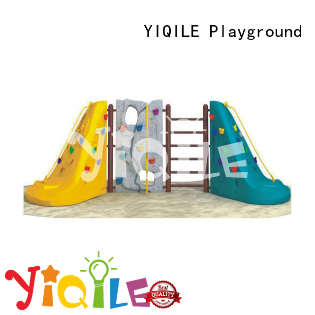 plastic playground equipment newest deluxe YIQILE Brand company