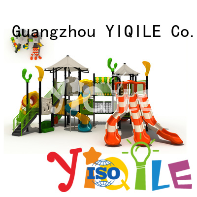 popular playground kindergarten YIQILE plastic outdoor play equipment