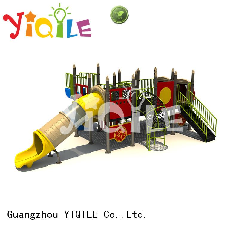 Quality plastic playground equipment YIQILE Brand kindergarten plastic outdoor play equipment