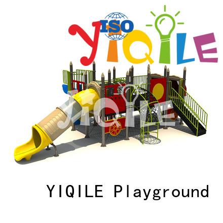 children plastic outdoor play equipment YIQILE plastic playground equipment
