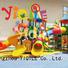 YIQILE plastic outdoor play equipment popular deluxe children equipment