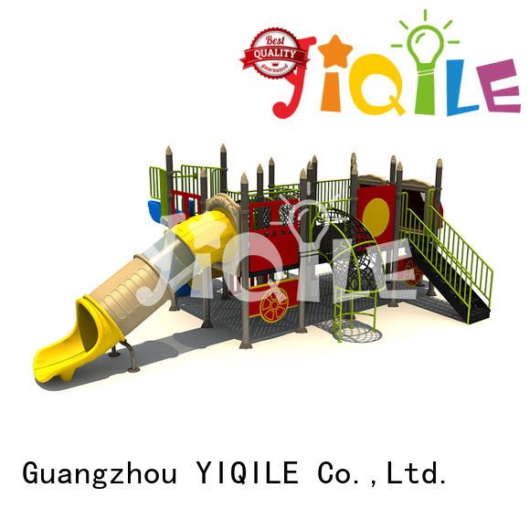 plastic playground equipment wall deluxe kids unique YIQILE
