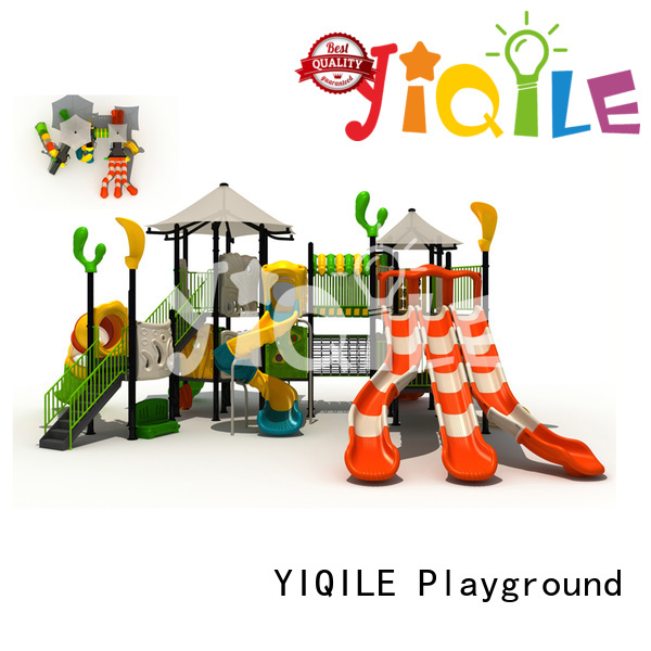 plastic playground equipment newest model be YIQILE Brand company