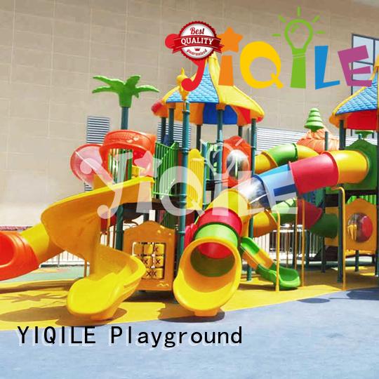 plastic playground equipment be YIQILE Brand plastic outdoor play equipment
