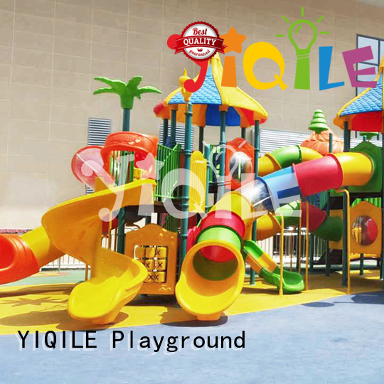 plastic playground equipment be YIQILE Brand plastic outdoor play equipment