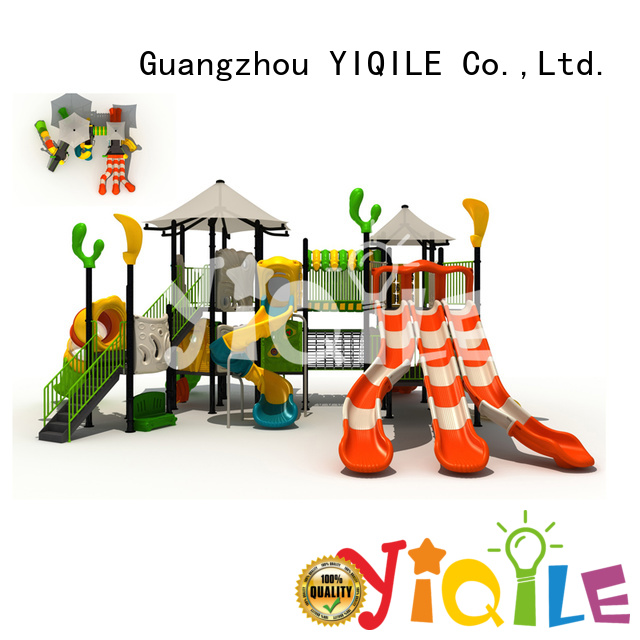 plastic playground equipment popular YIQILE Brand plastic outdoor play equipment