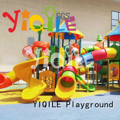 wall plastic outdoor play equipment ce YIQILE