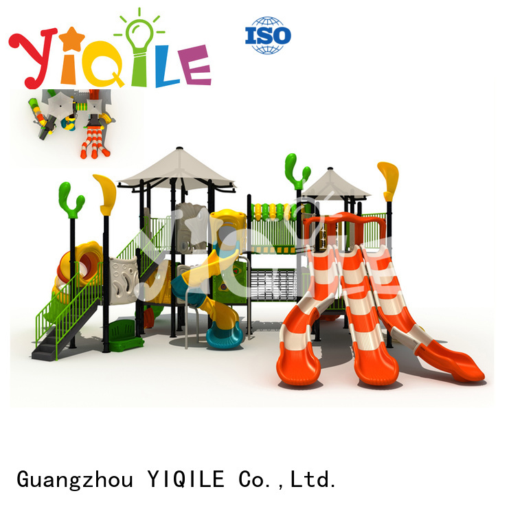 be plastic playground equipment large YIQILE