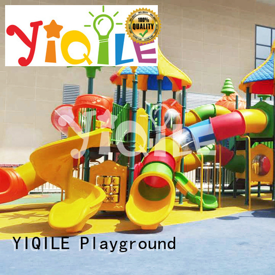 plastic playground equipment sale be plastic outdoor play equipment YIQILE Brand