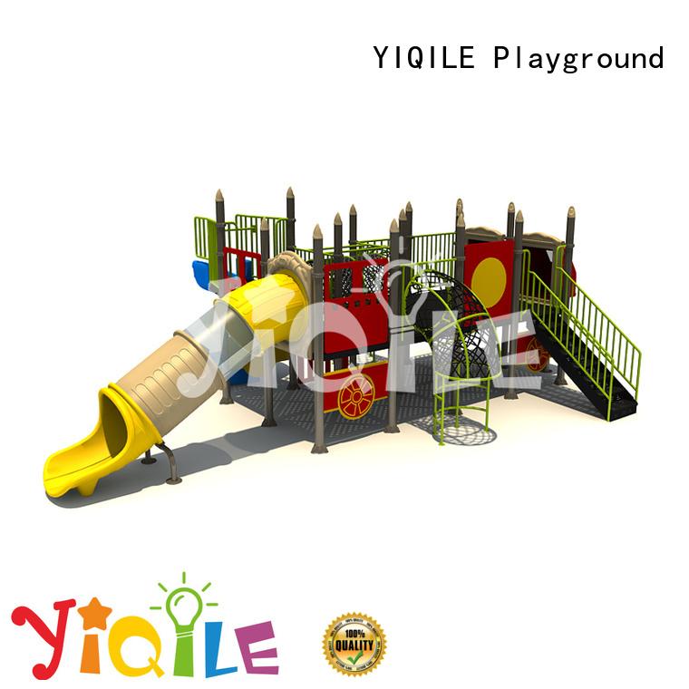 plastic playground equipment climbing brightly colored kindergarten
