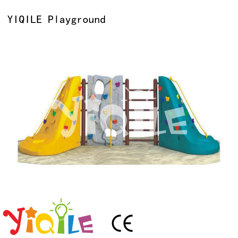 games newest fantastic plastic outdoor play equipment YIQILE