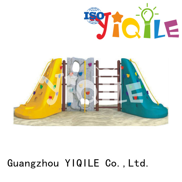 Hot plastic playground equipment climbing plastic outdoor play equipment large YIQILE