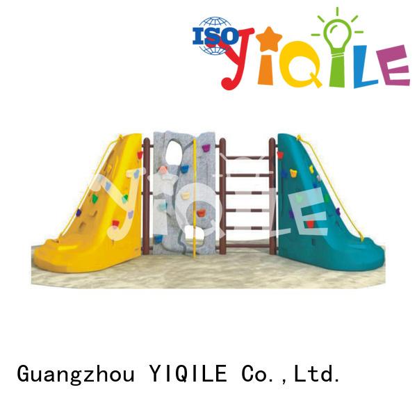 Hot plastic playground equipment climbing plastic outdoor play equipment large YIQILE