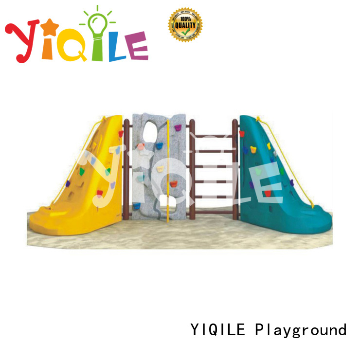 plastic playground equipment newest model plastic outdoor play equipment YIQILE Warranty