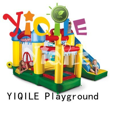 YIQILE inflatable castle slide quality top inflatable