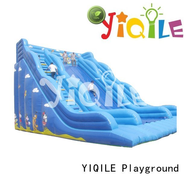 bouncy castle manufacturers paradise dodgeball inflatable castle YIQILE Warranty
