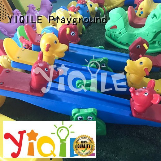 kindergarten colorful YIQILE kids outdoor play house