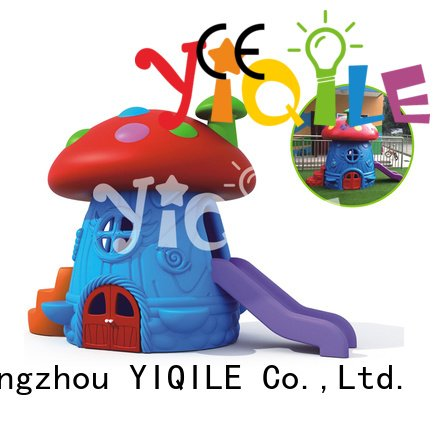 kids outdoor play house welcome play swing slide YIQILE Brand