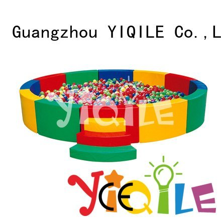 Quality kids outdoor play house YIQILE Brand preschool swing slide