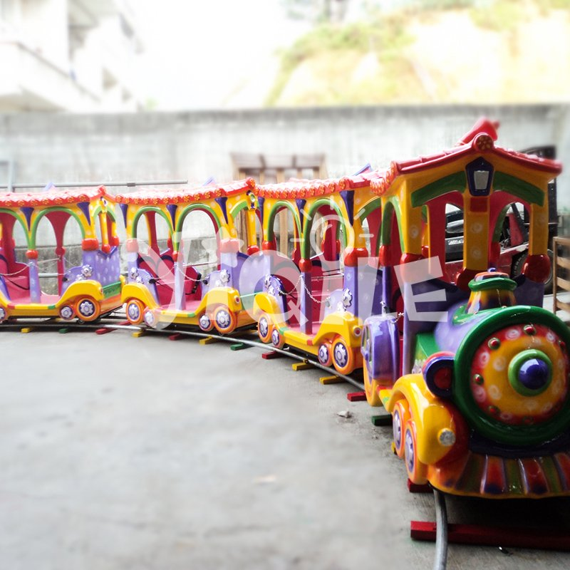 Hot sale luxury 14 Seats kiddie rides amusement park trains for sale