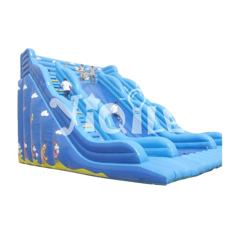 Top quality inflatable slide toys cute inflatable animal toys bouncy castle for kids