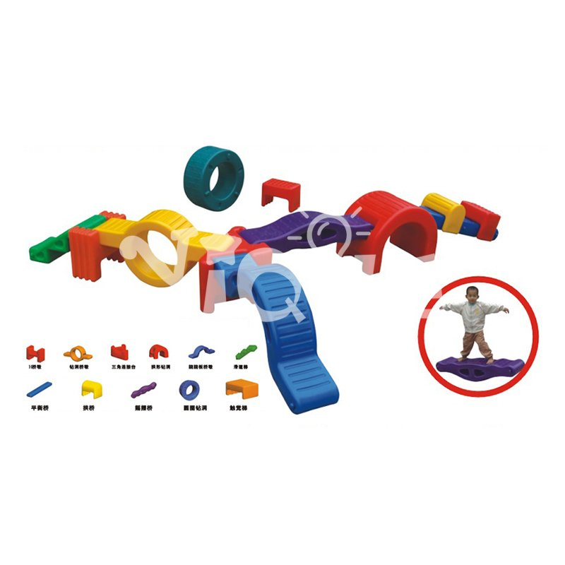 High quality rotational molding technology kids outdoor plastic balance toy